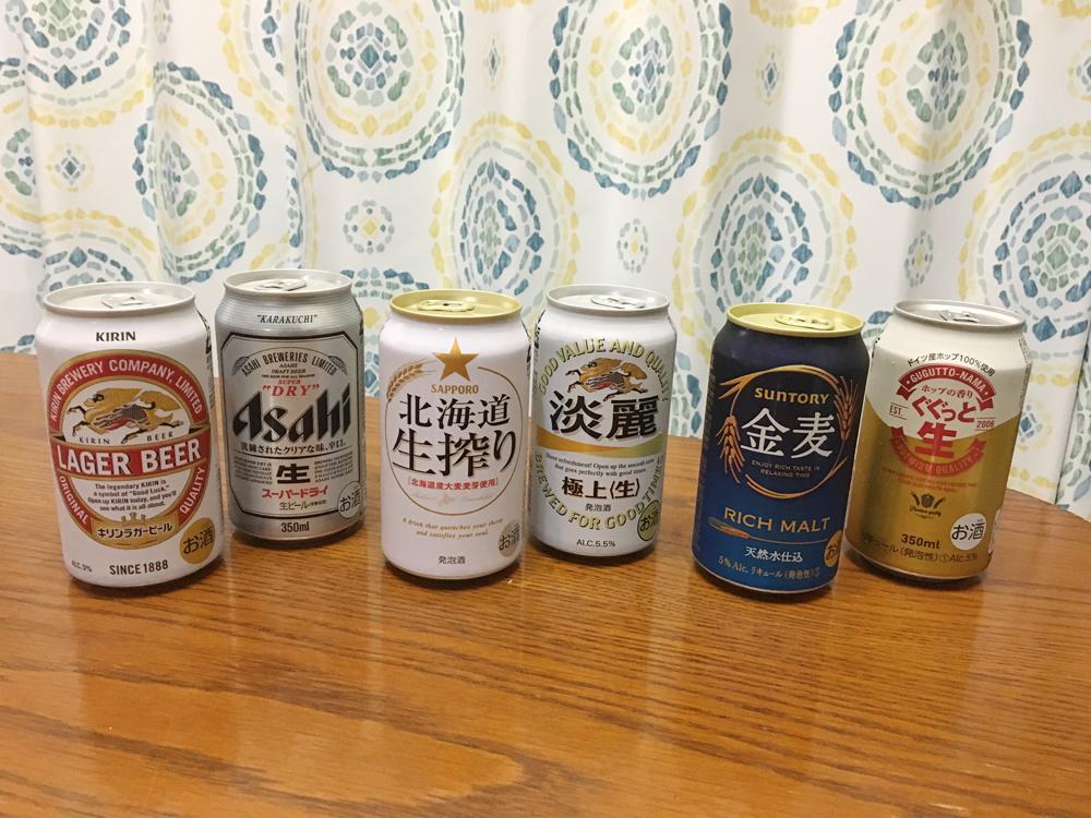 ビールと発泡酒と第3のビール