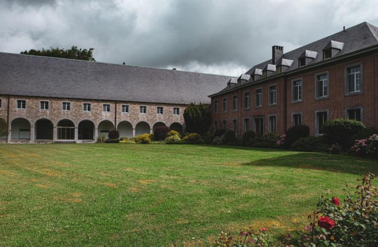 ベルギー(シメイ)の修道院